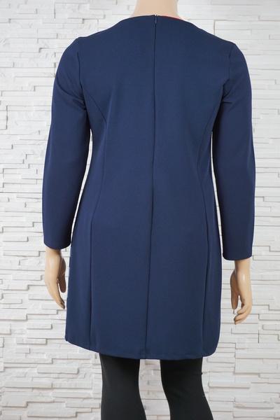 079 robe classique vintage rayure marine 3