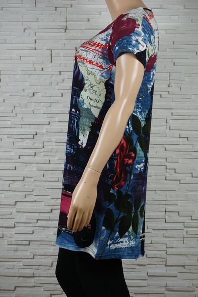 085 robe classique imprime n monuments marine 2