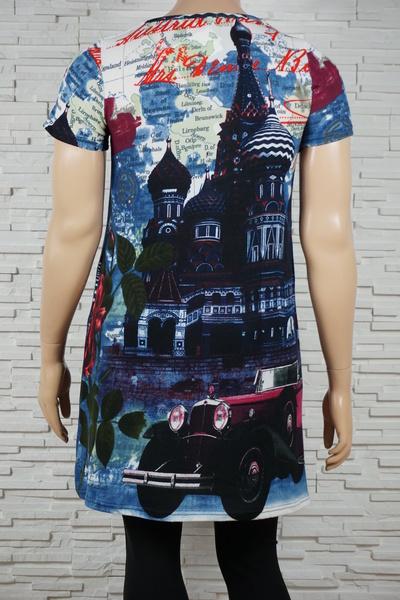 085 robe classique imprime n monuments marine 3