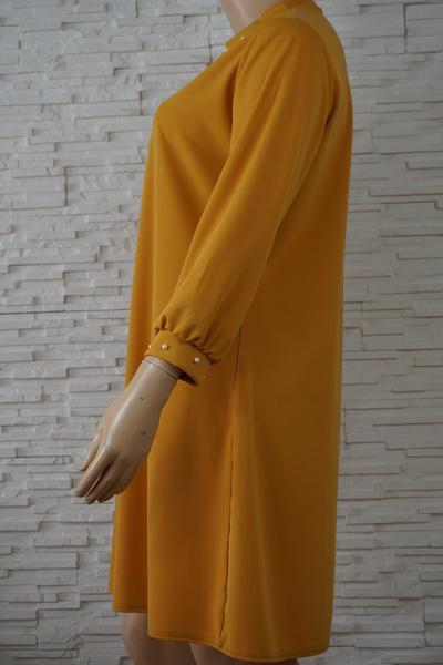 097 robe classique unie grande taille2