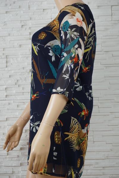 098 robe a fleurs grande taille2