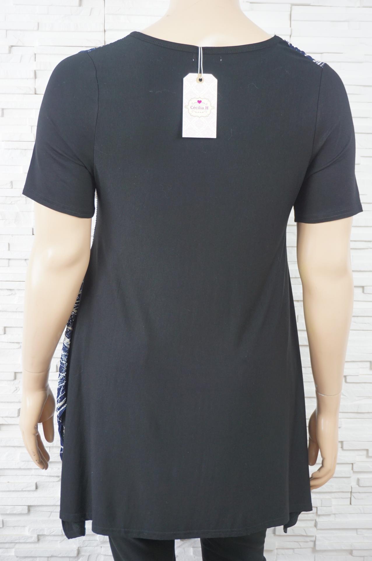 Chemise tunique imprime ge ome trique3
