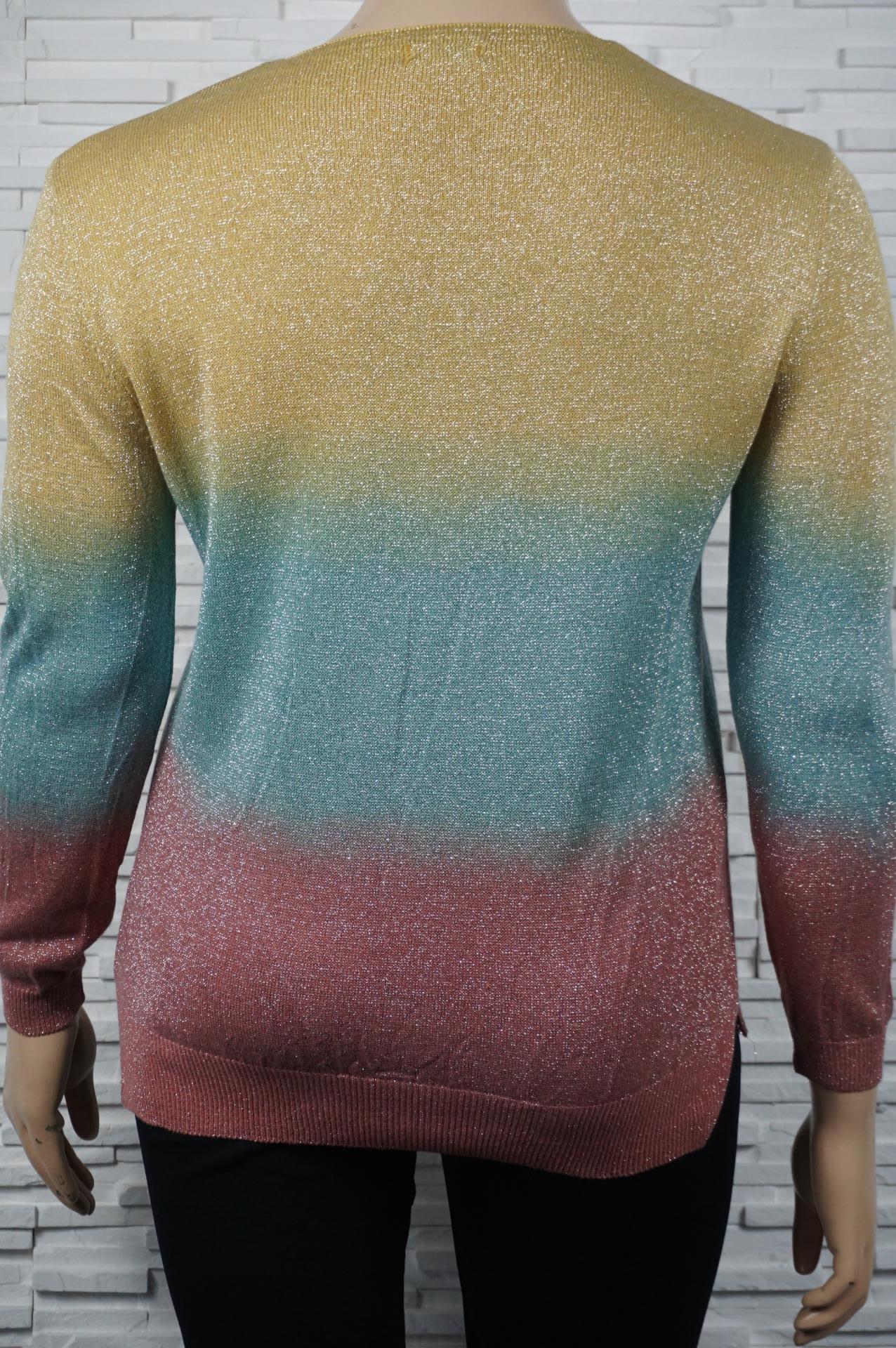 Pull métallisé multi-couleurs