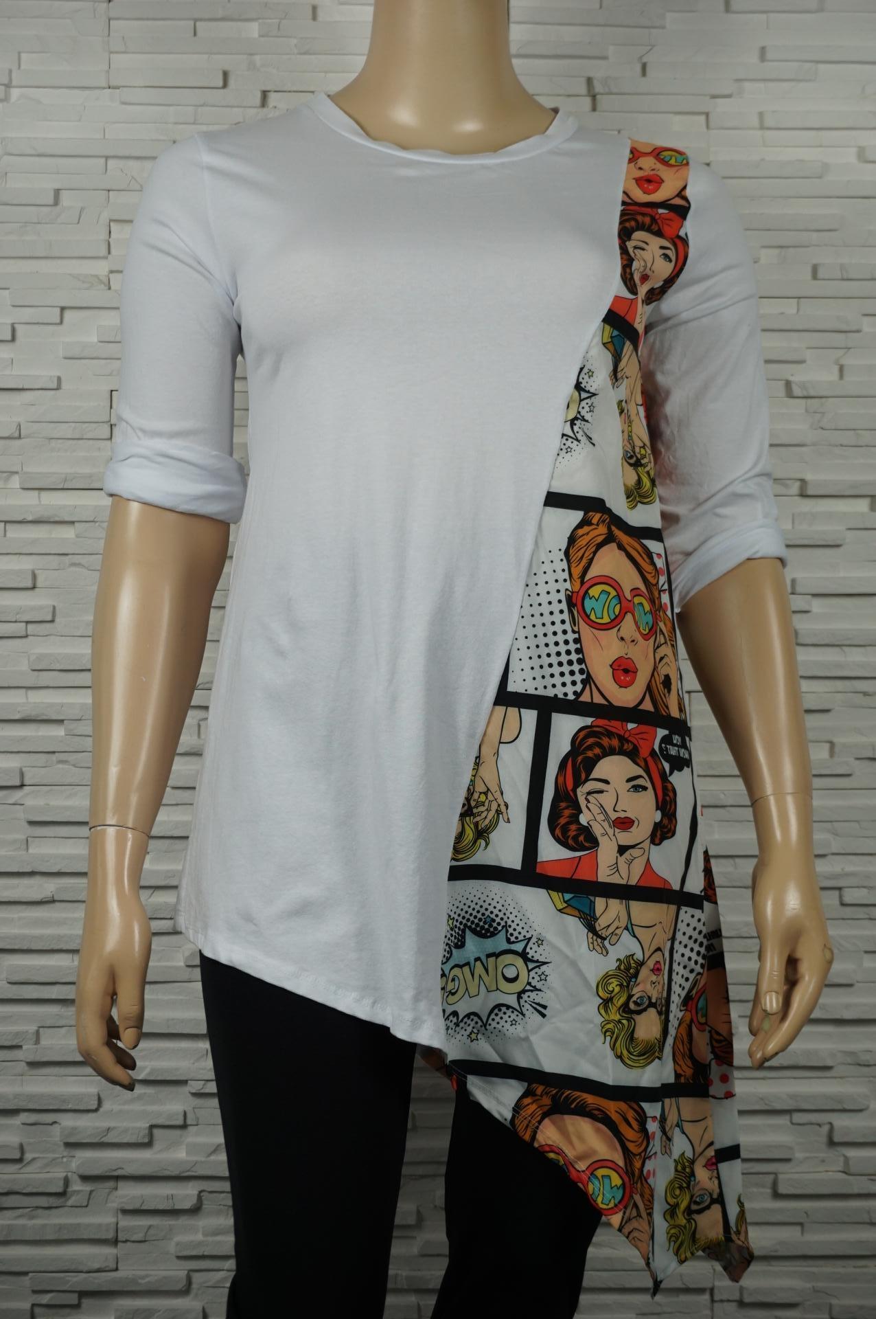 Robe t-shirt trapèze