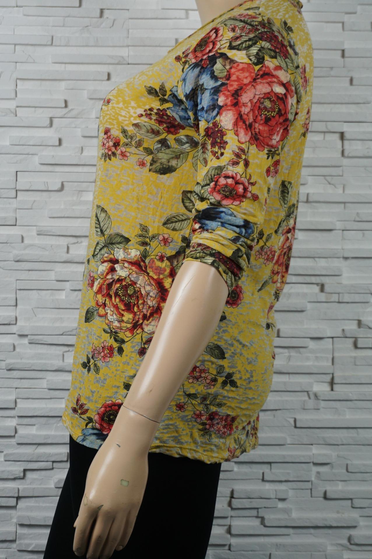 Tunique coton à fleurs
