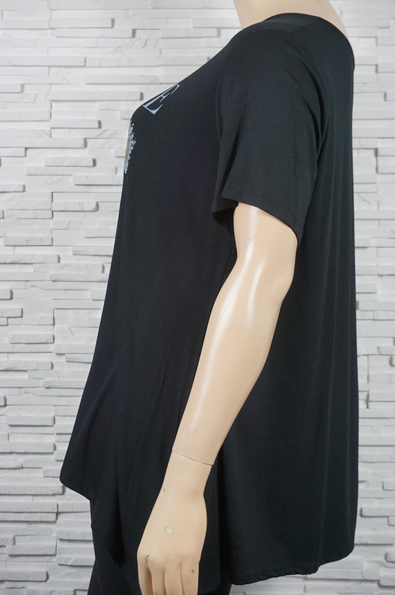 tee-shirt long 3 tournesols