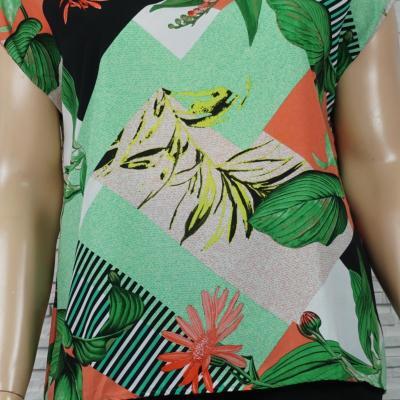 Tee-shirt imprimé floral.