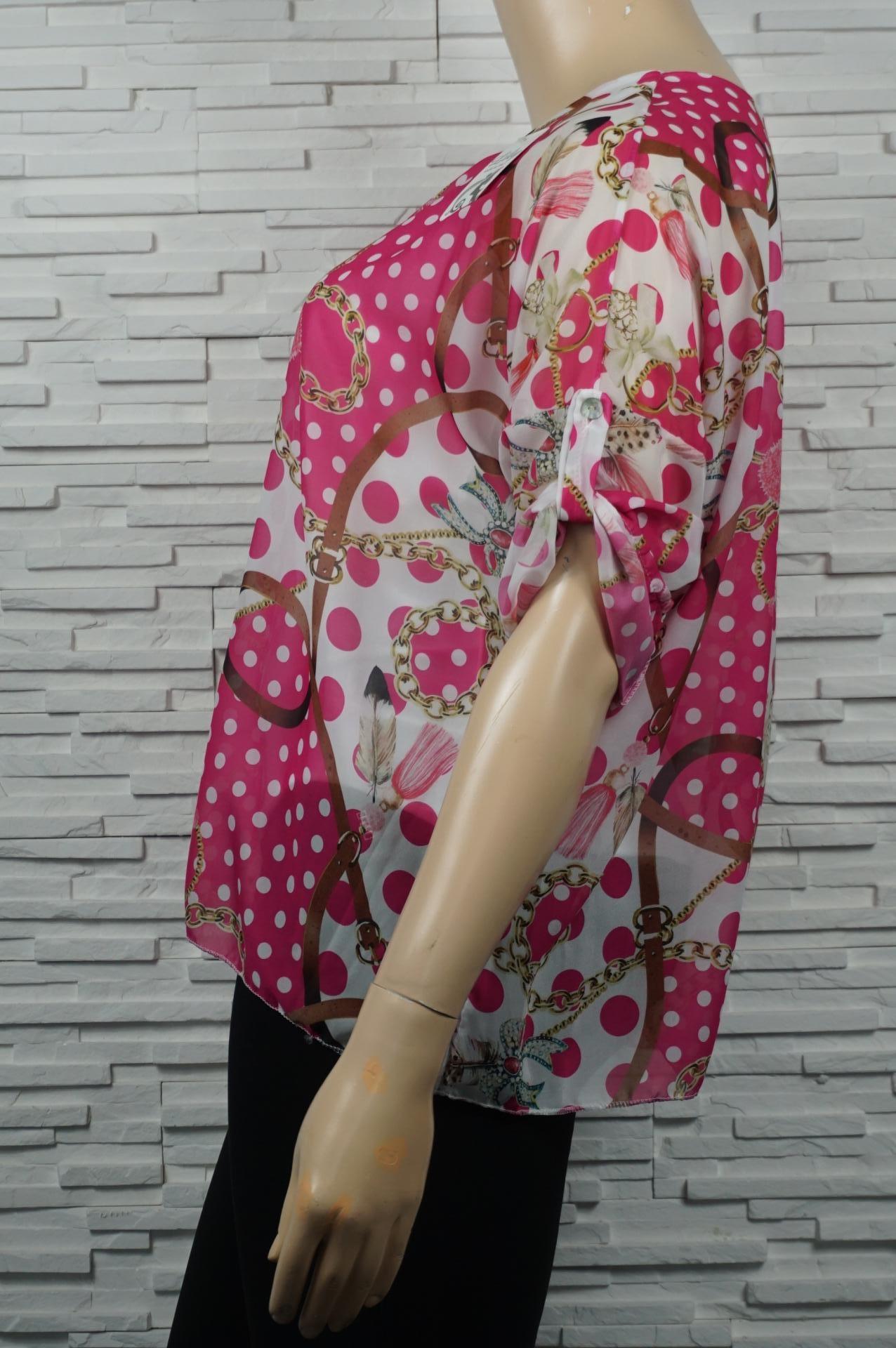 Tunique en voile chauve-souris imprimé foulard