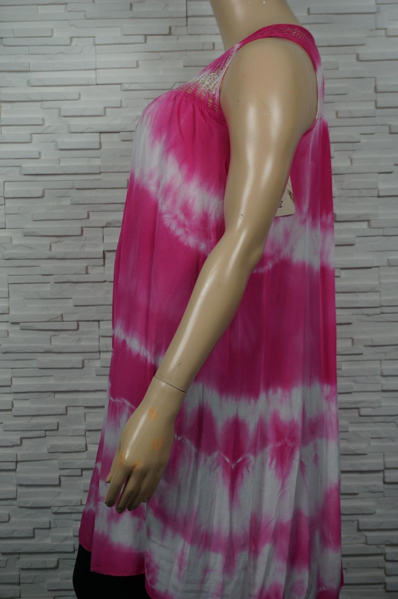 robe longue tye and dye