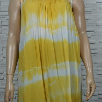robe longue tye and dye