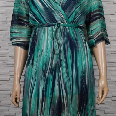 robe croisée asymetrique.