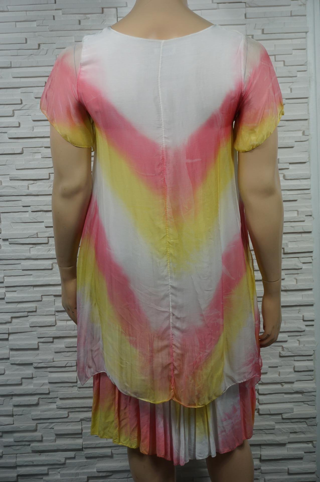 robe longue légère tye and dye.