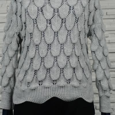 Pull  court en maille