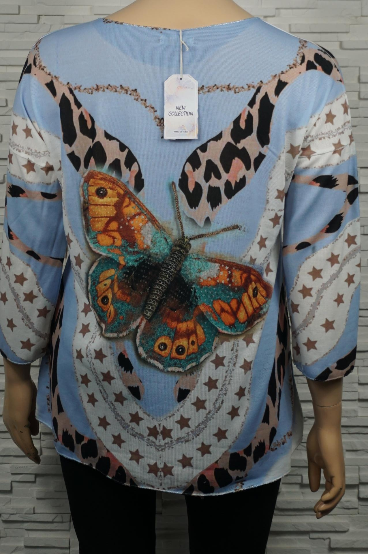 T-shirt ou tunique longue  dessinée