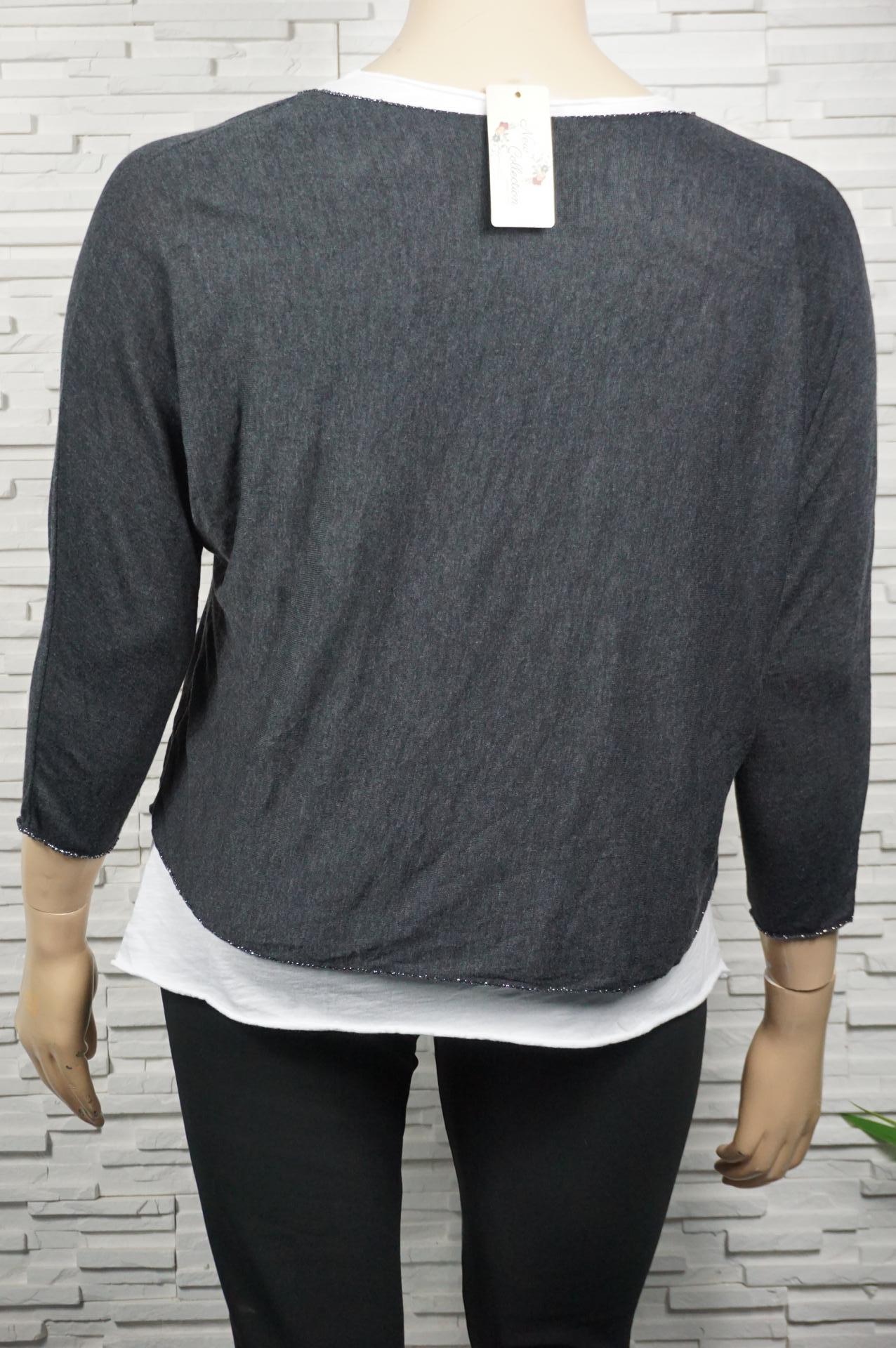 Tunique à faux chemise avec une étoile en strass.