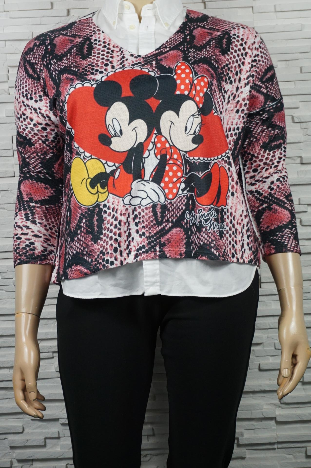 Pull doux Minnie Mickey