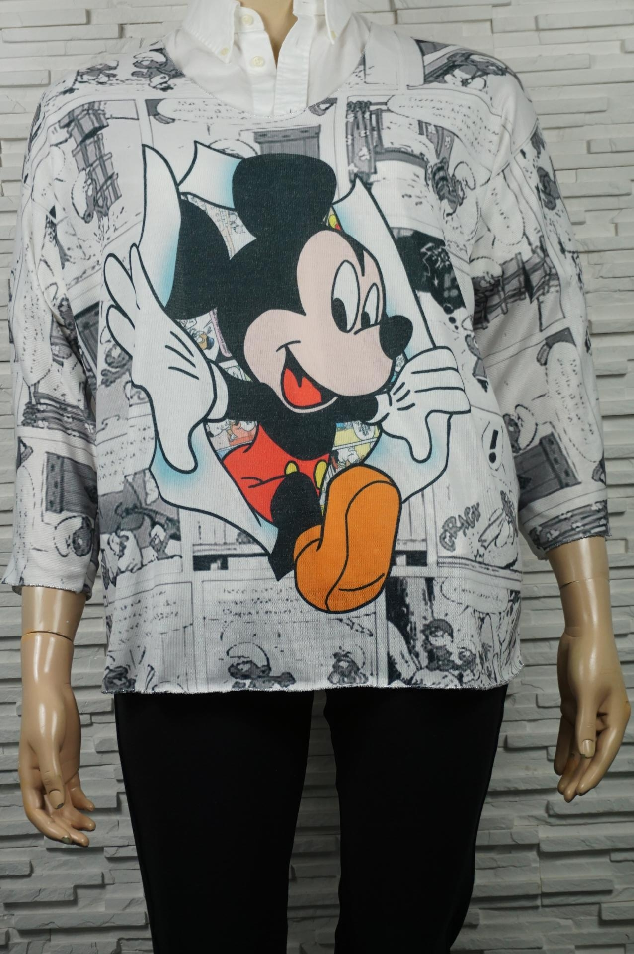 Pull léger imprimé Mickey