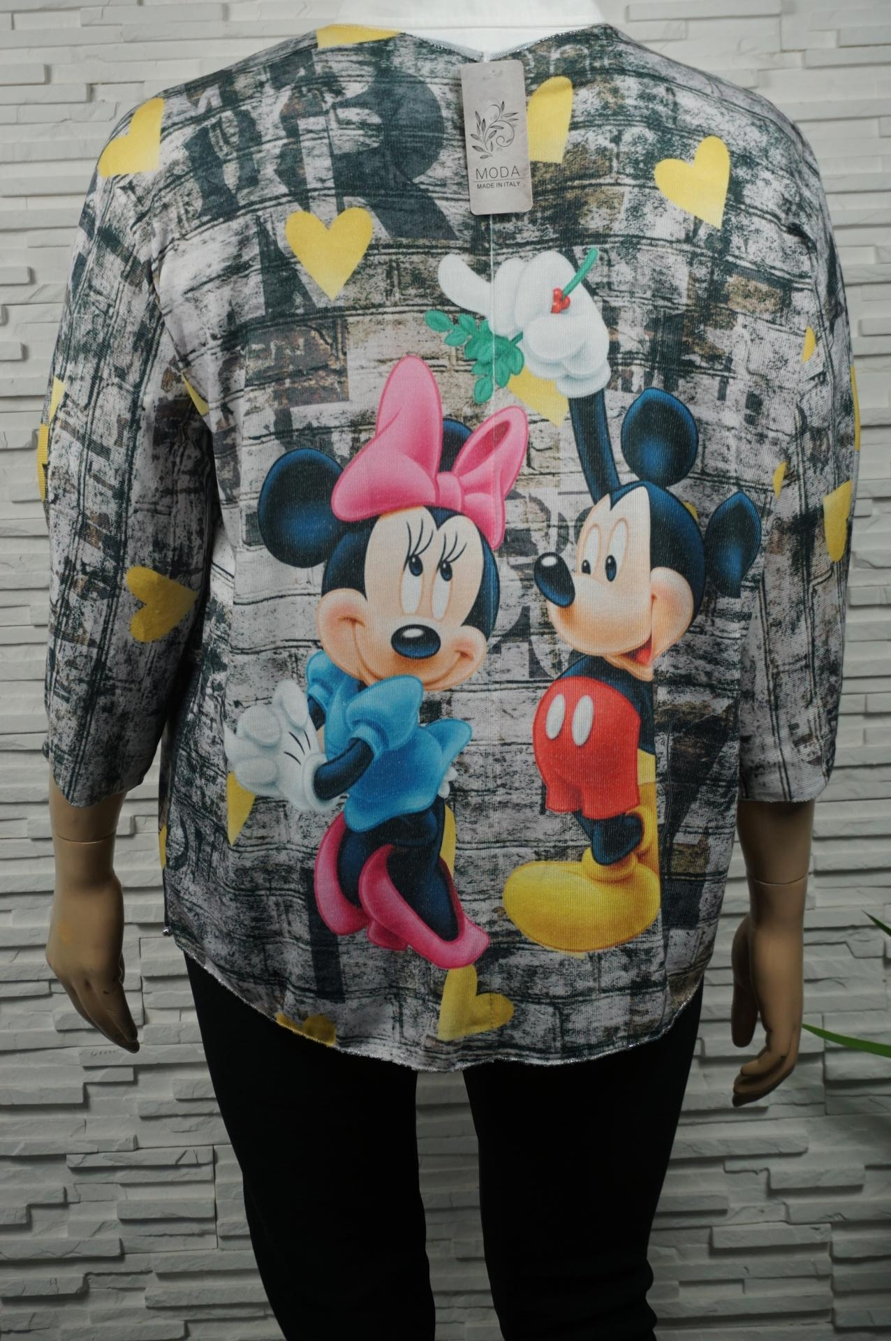 pull imprimé Minnie Mickey.