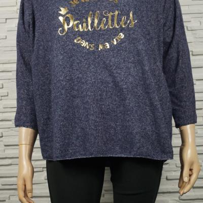 pull doux col V