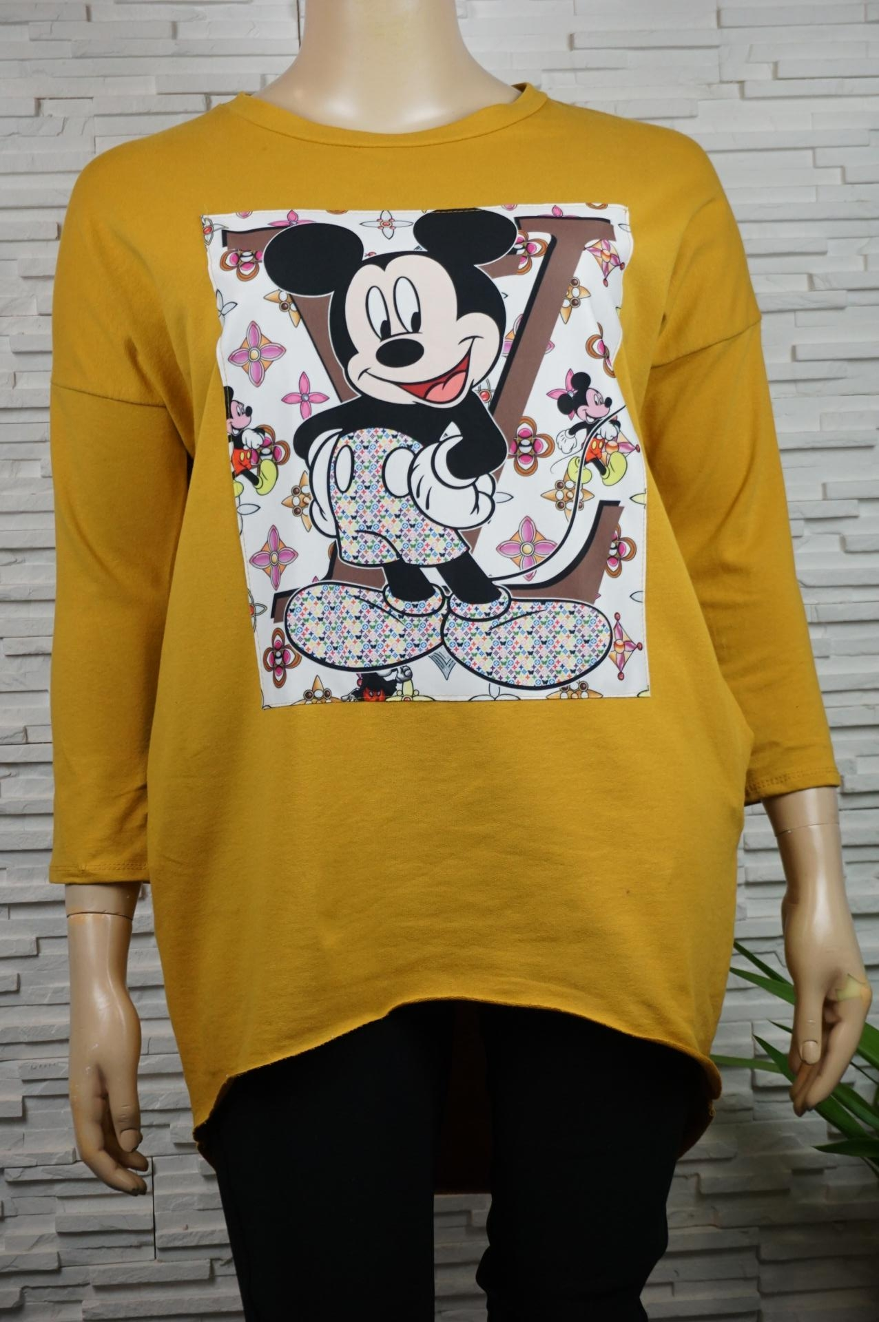 Pull ou sweat coton Mickey/LV.