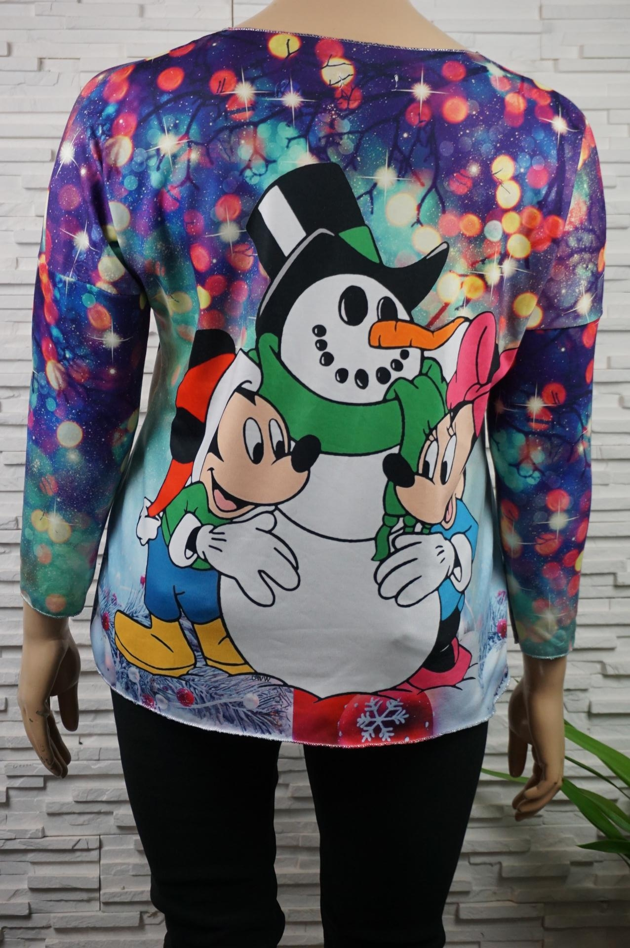 Pull doux Myckey/Minnie.