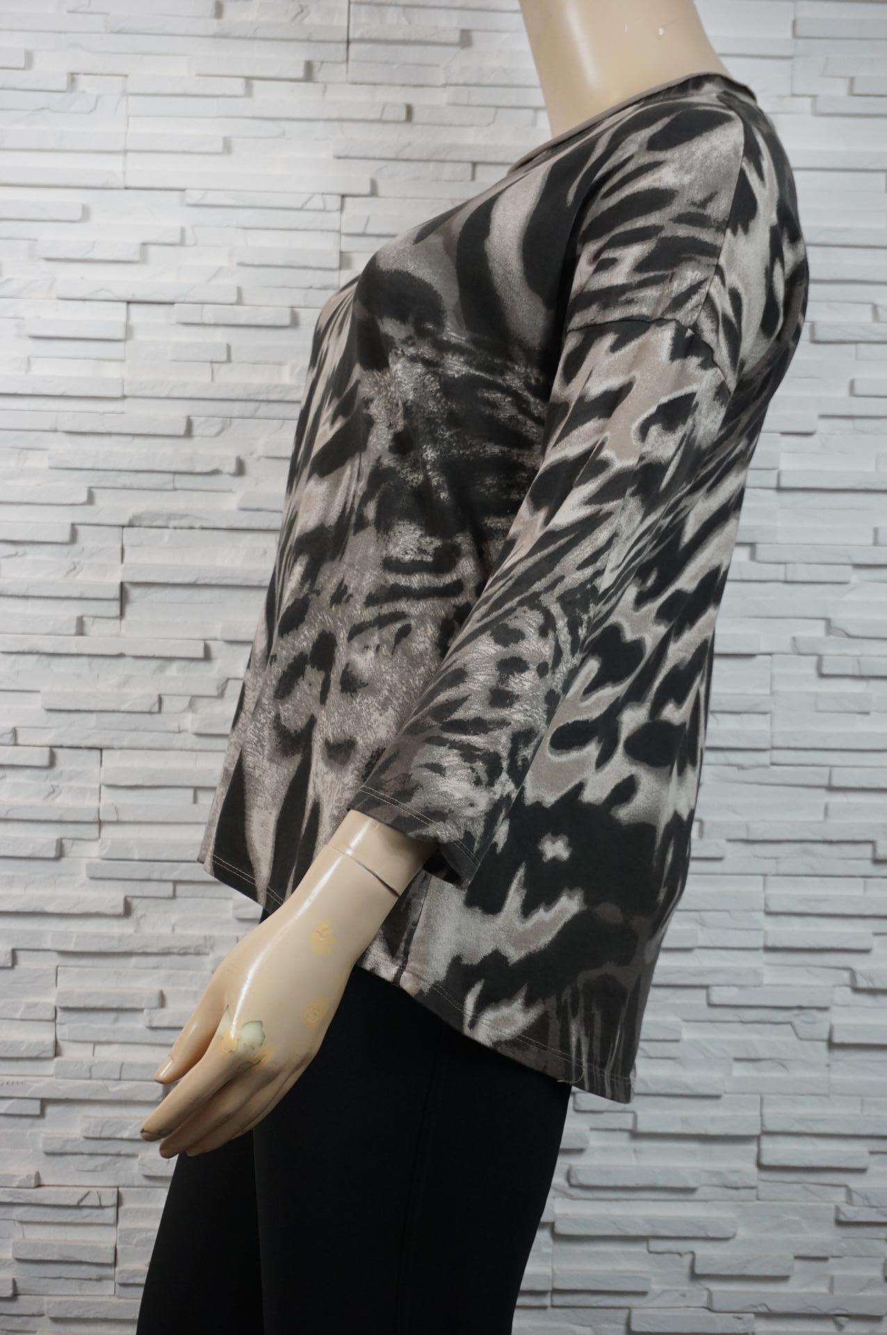 Pull/tunique coton imprimé animal.