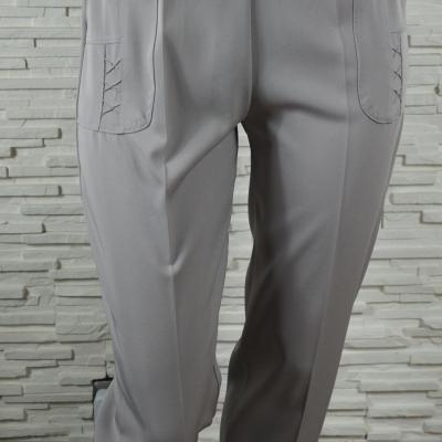 Pantalon cigarette a e lastiques et poches6