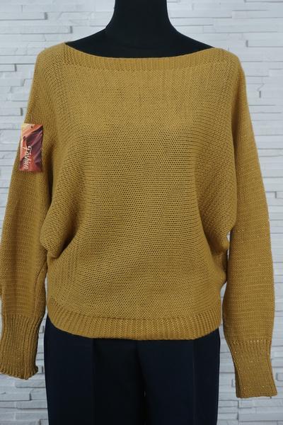 Pull tricote chauve souris legerement paillete 317