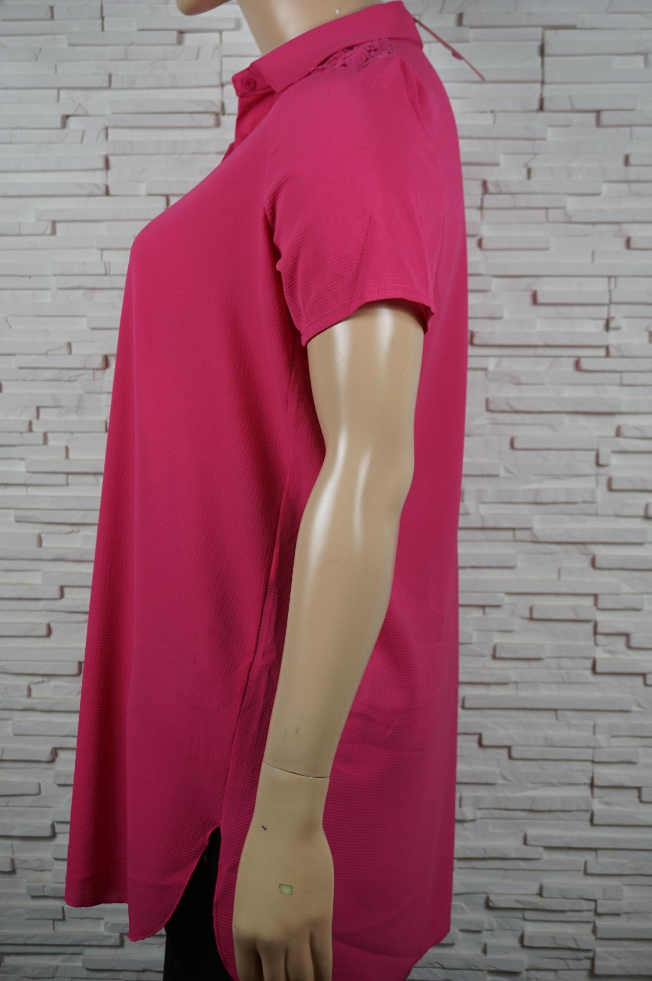 Robe chemise longue avec dentelles11