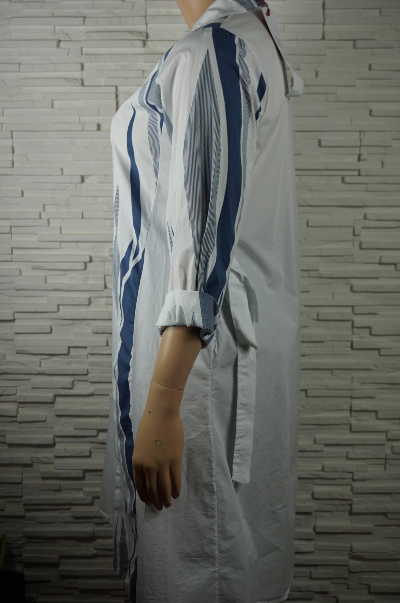 Robe chemise longue coton2