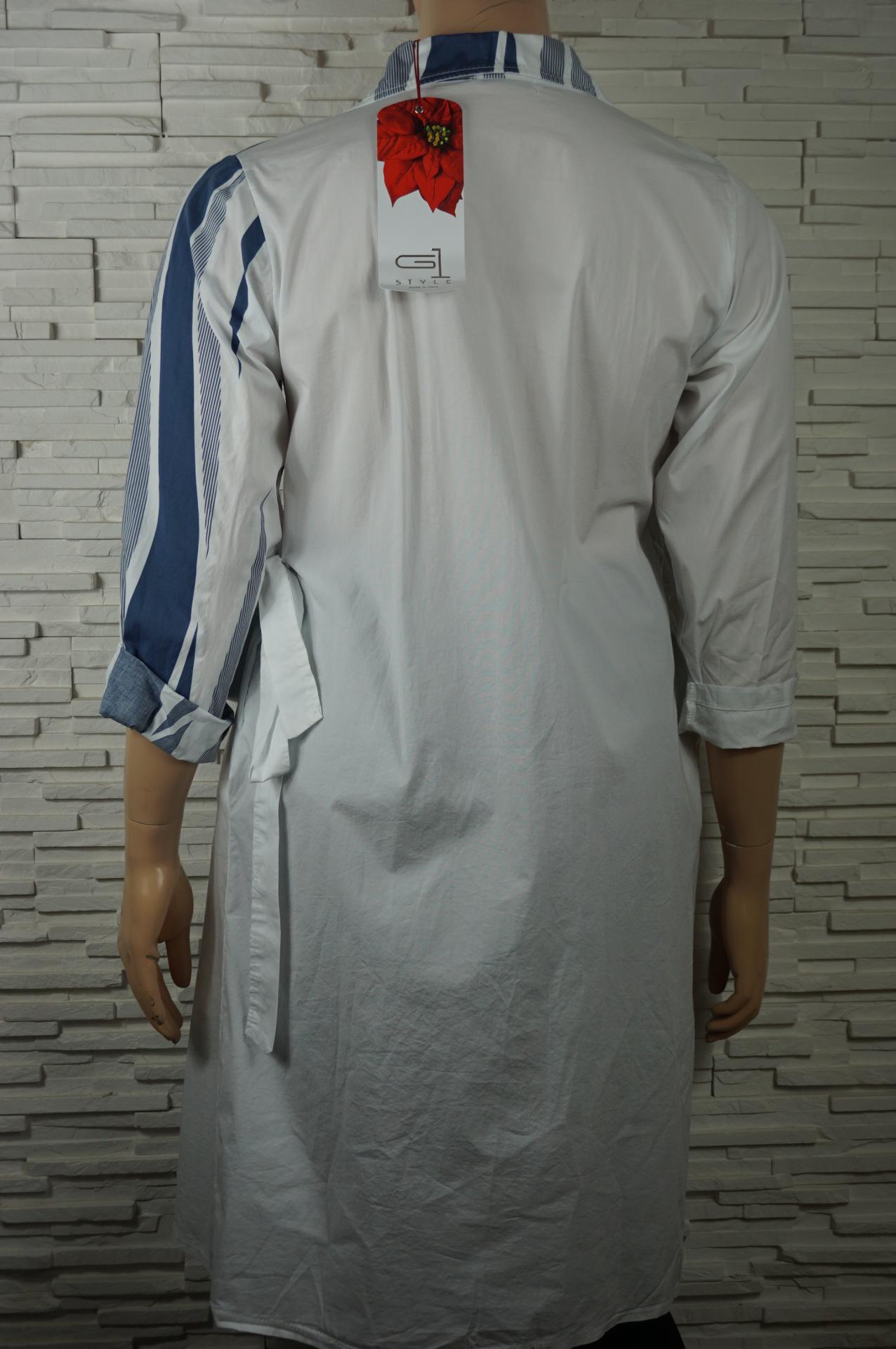 Robe chemise longue coton3