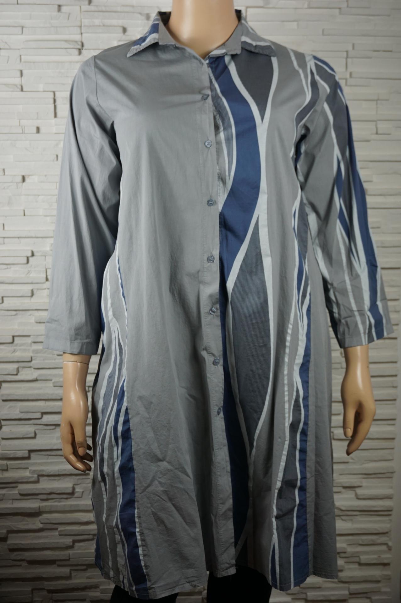 Robe chemise longue coton4
