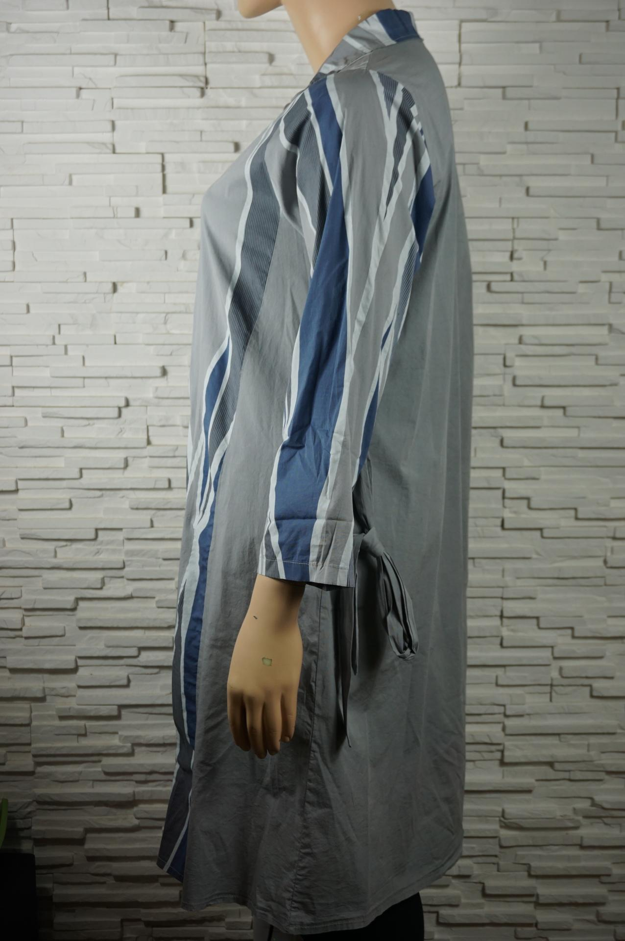 Robe chemise longue coton5
