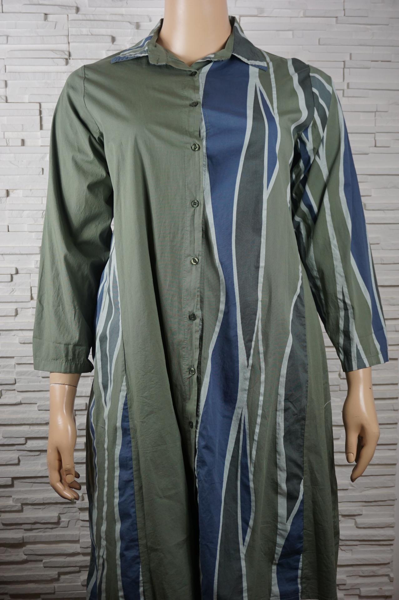 Robe chemise longue coton7