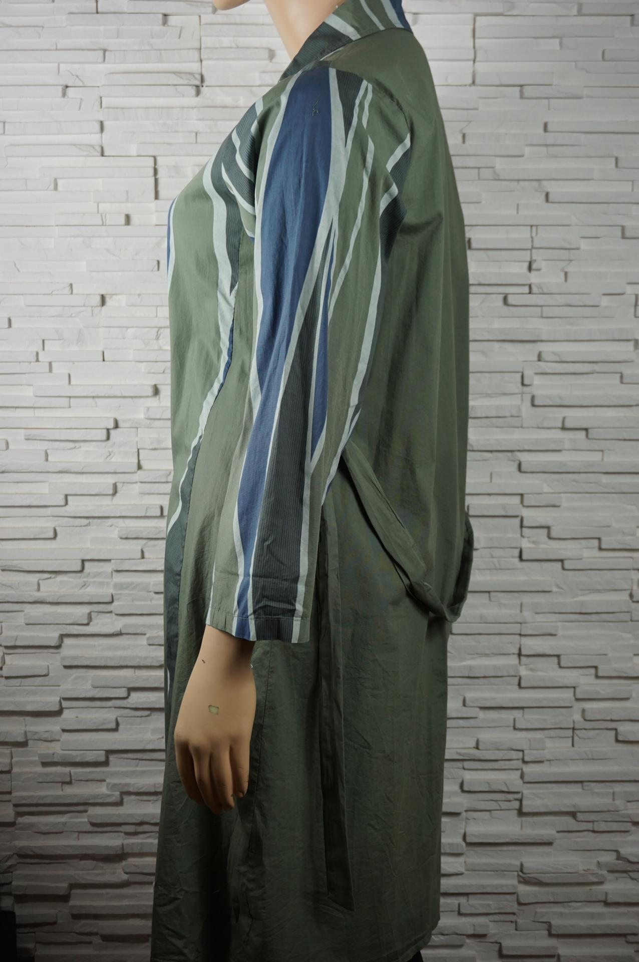 Robe chemise longue coton8