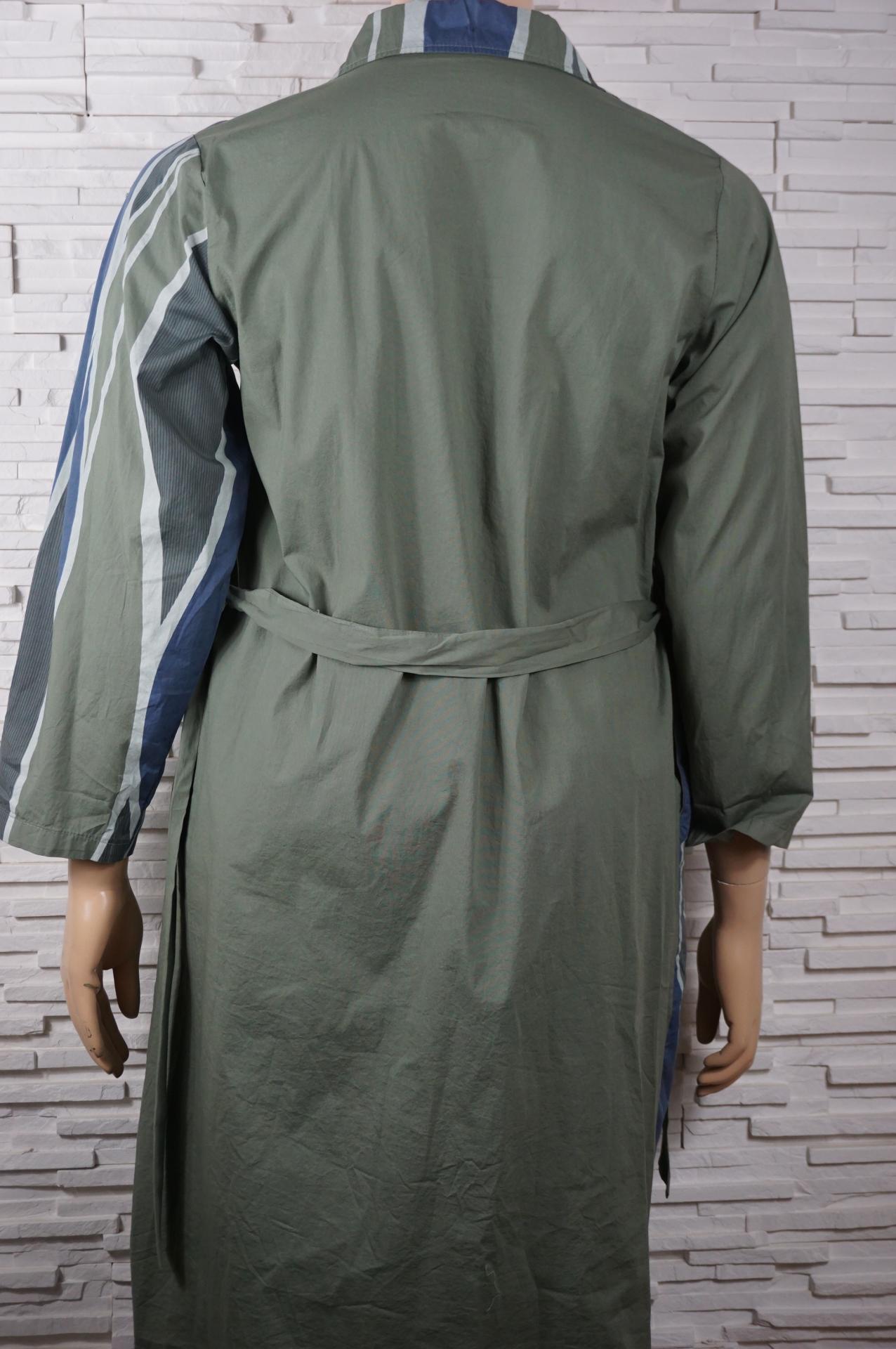 Robe chemise longue coton9