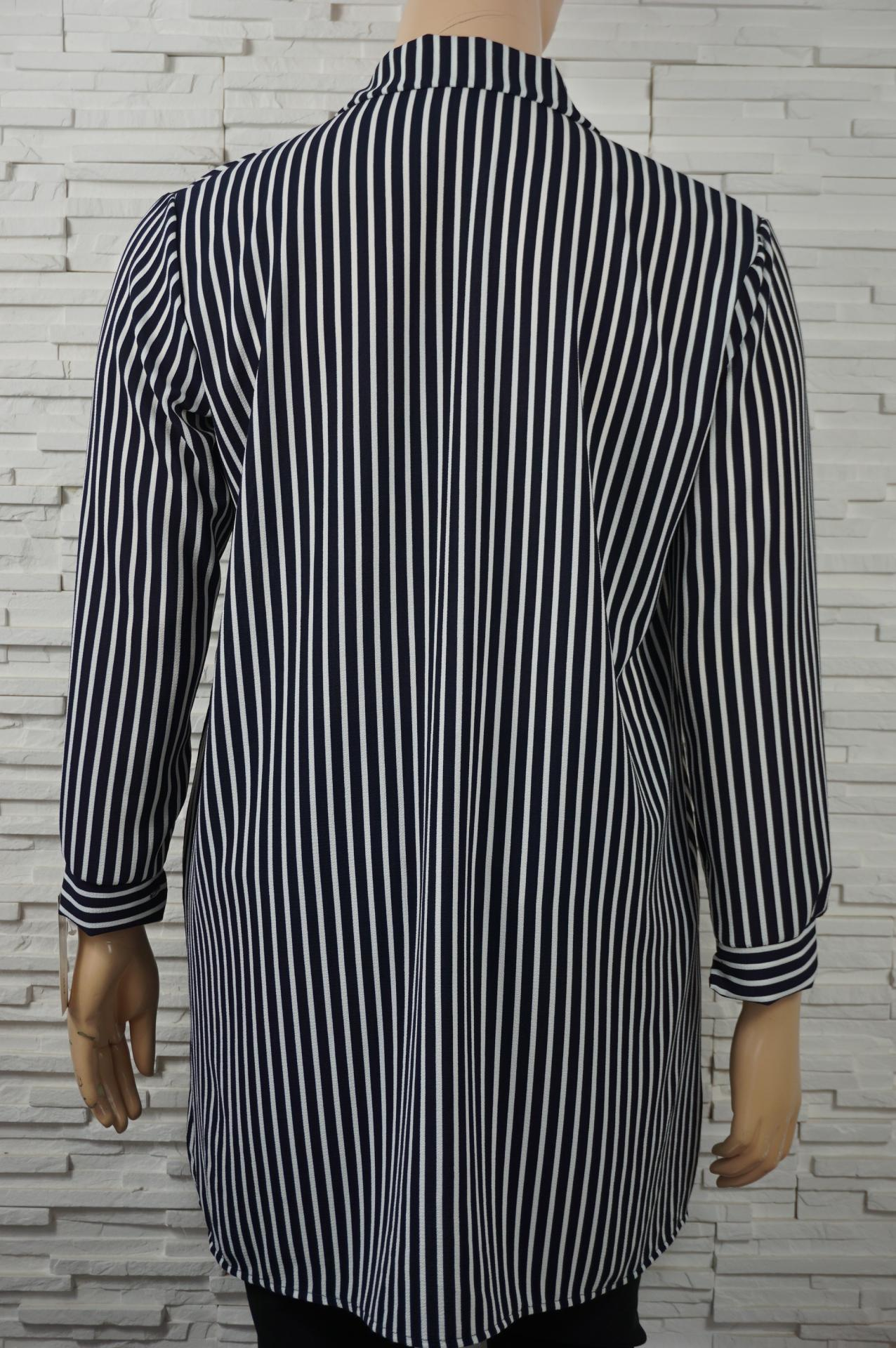 Robe chemise ouverte imprime e3