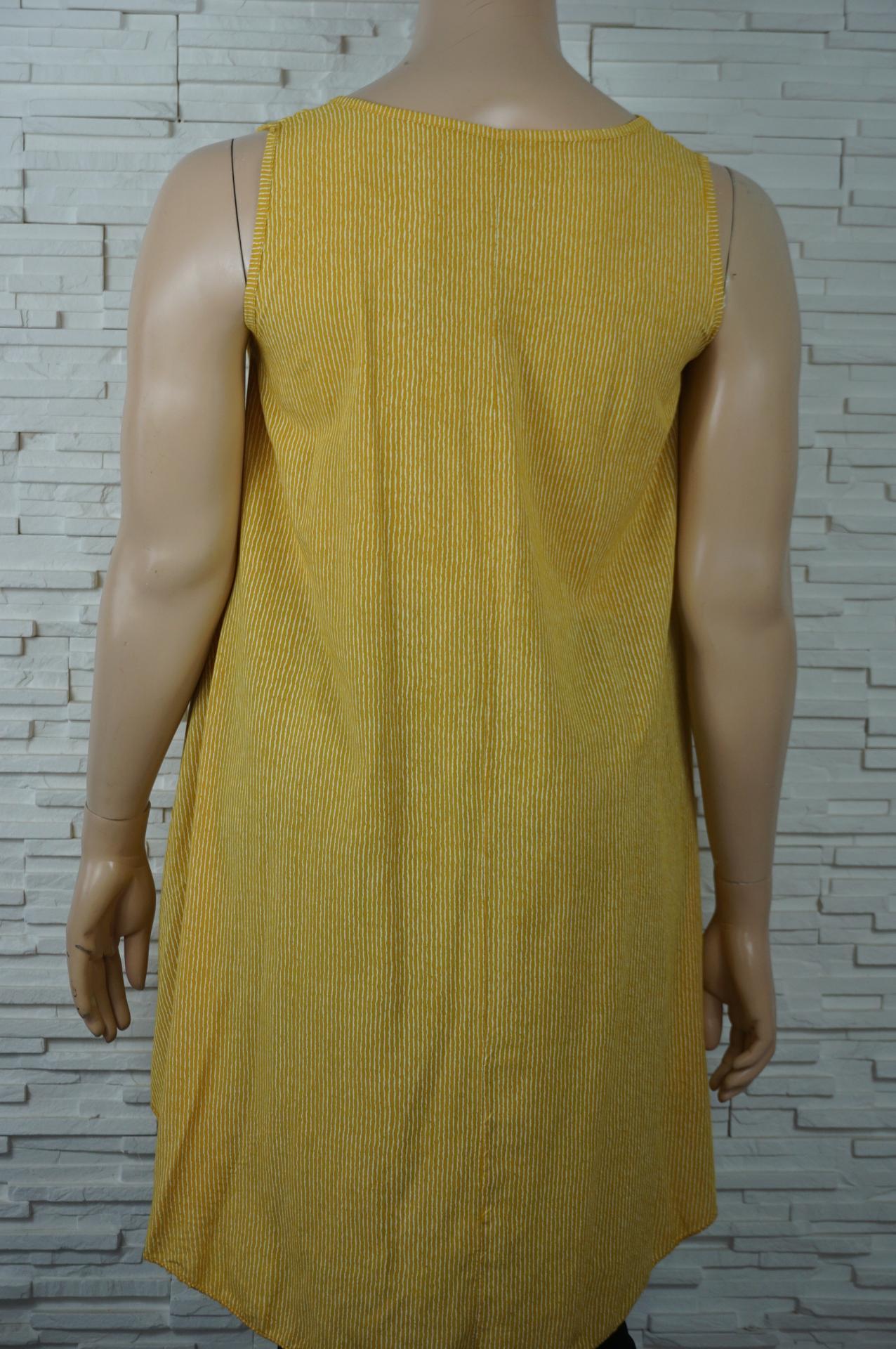 Robe coton a fines rayures2