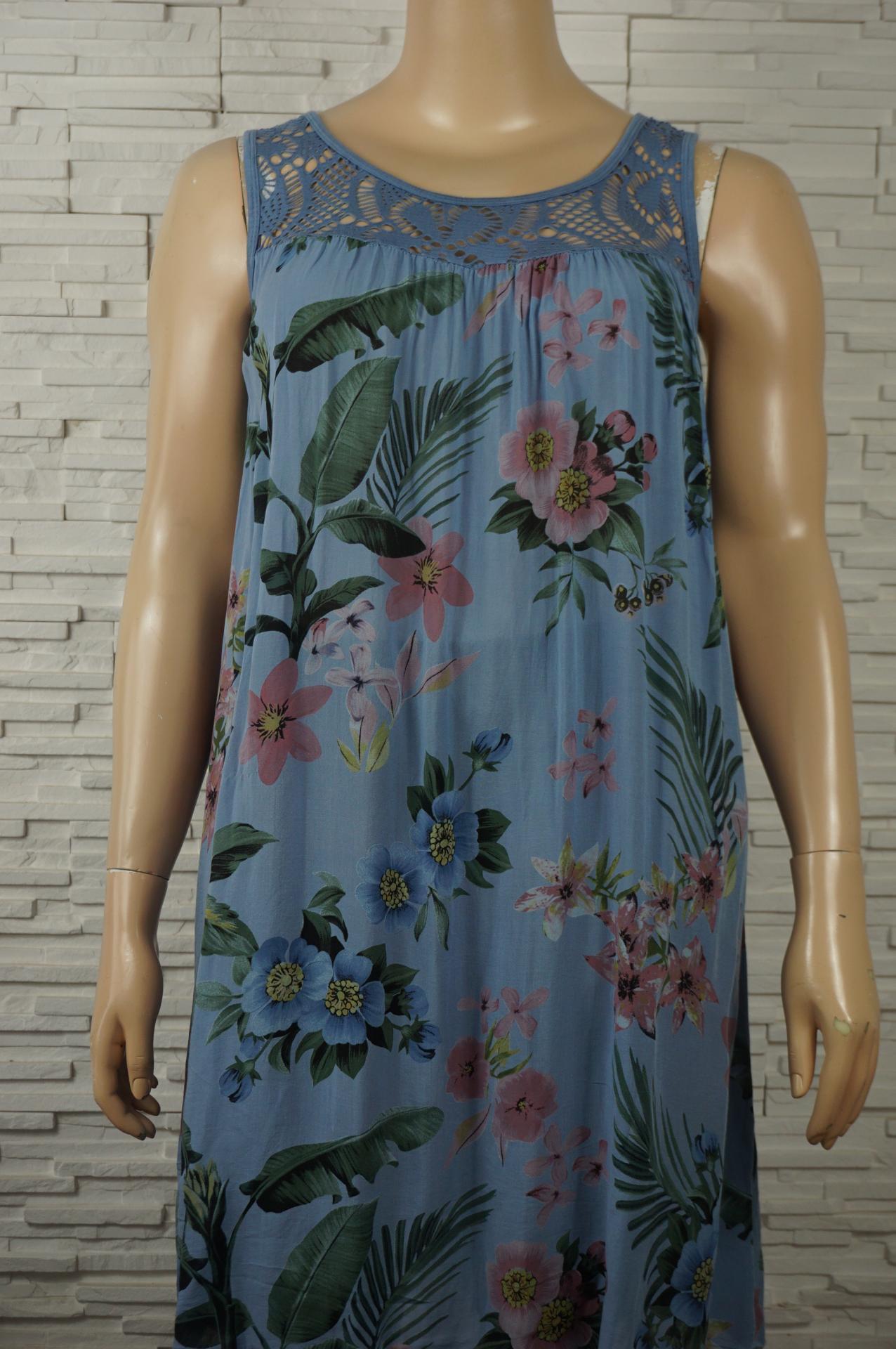 Robe coton imprime florale1