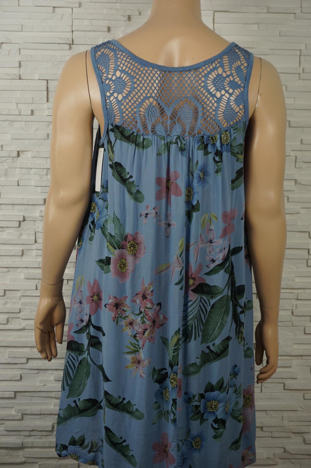 Robe coton imprime florale2