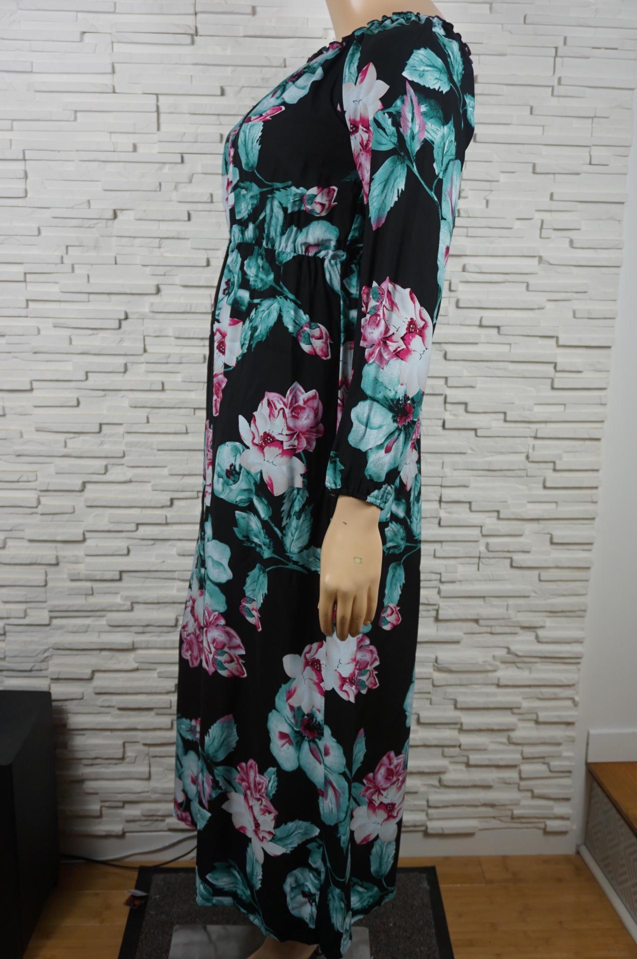 Robe longue a fleurs5