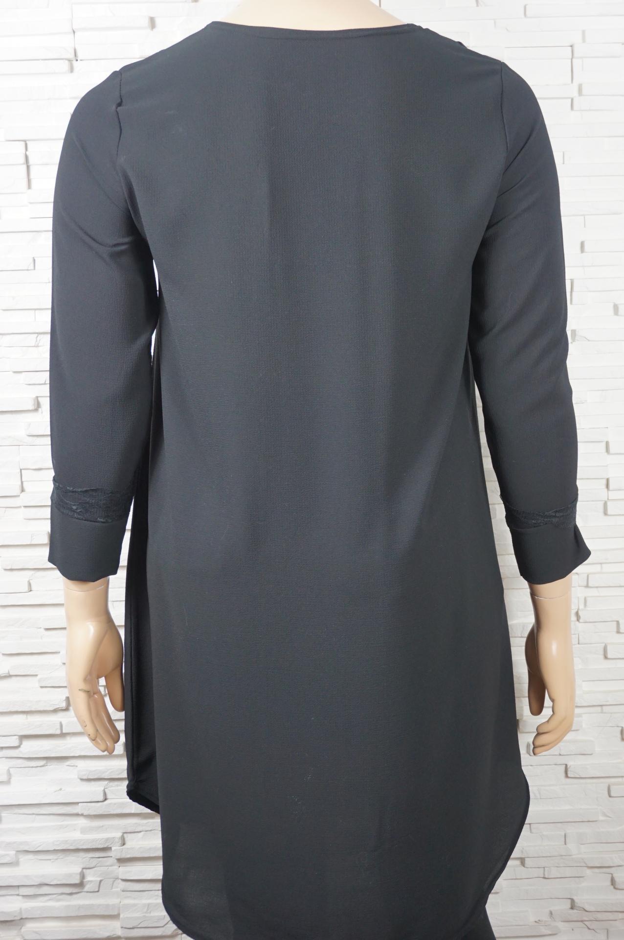 Robe longue avec dentelles3