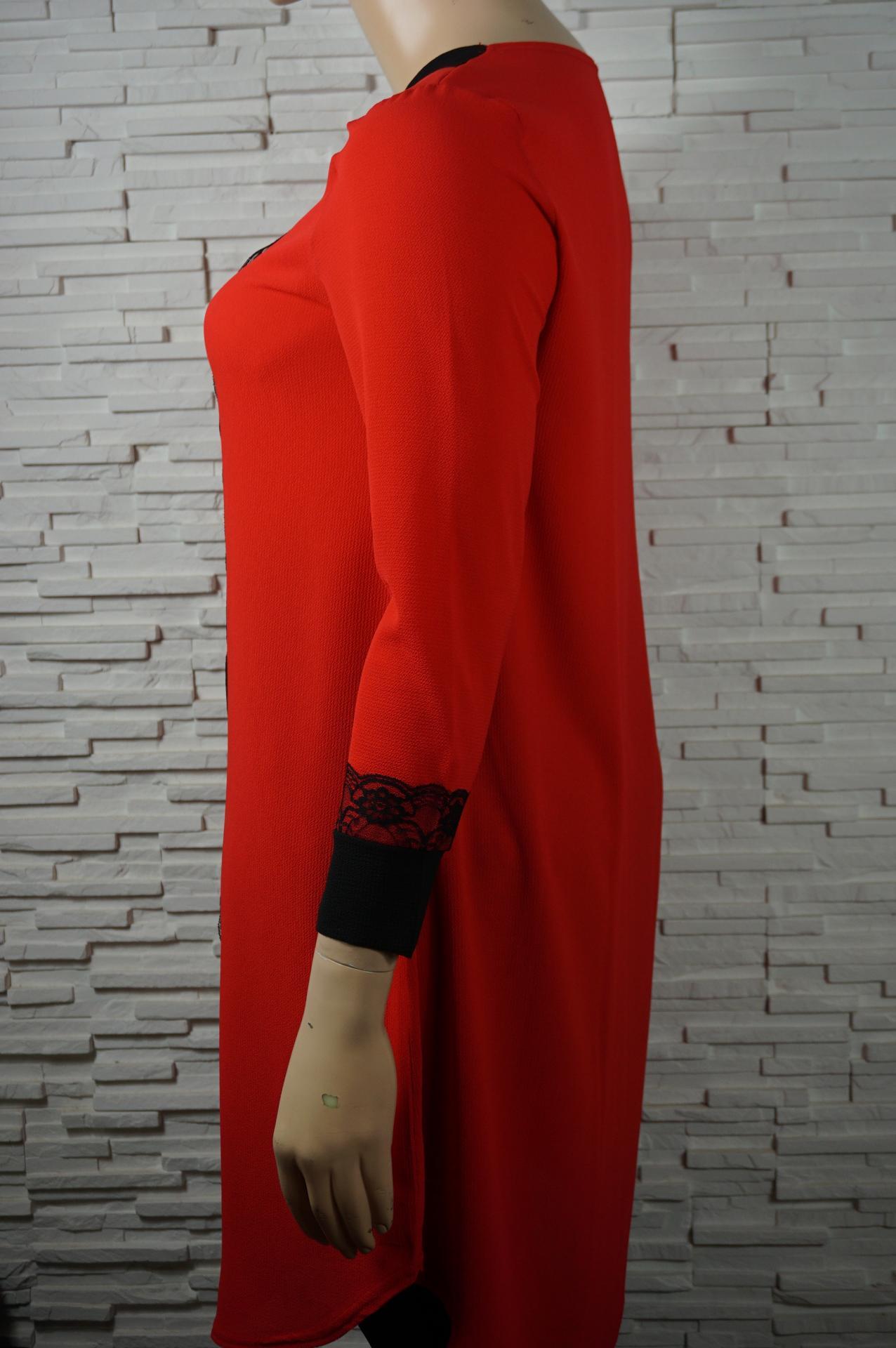 Robe longue avec dentelles5