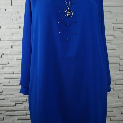 Robe polyester a collier4