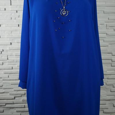 Robe polyester a collier4