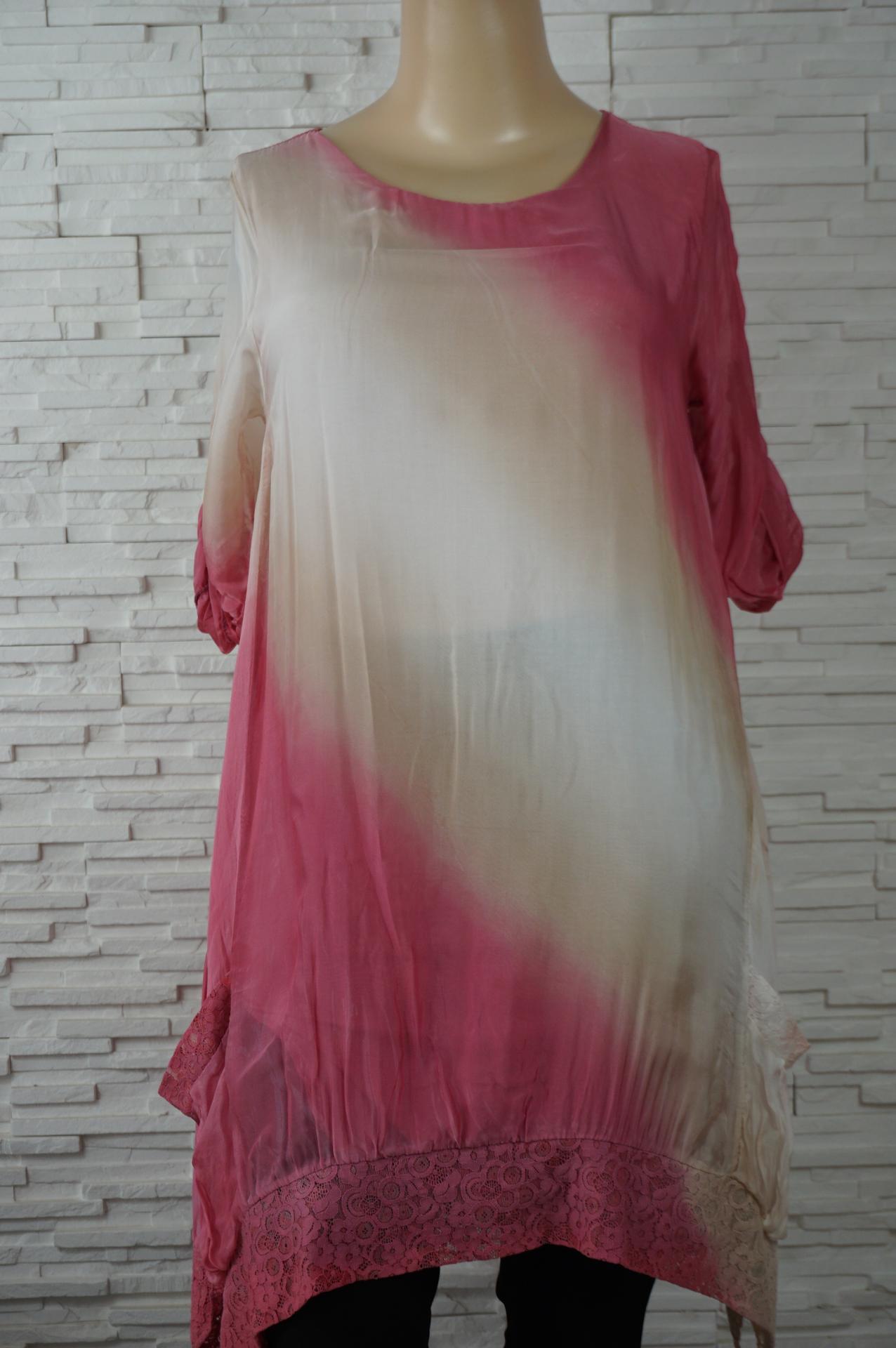 Robe soie longue tye and dye3