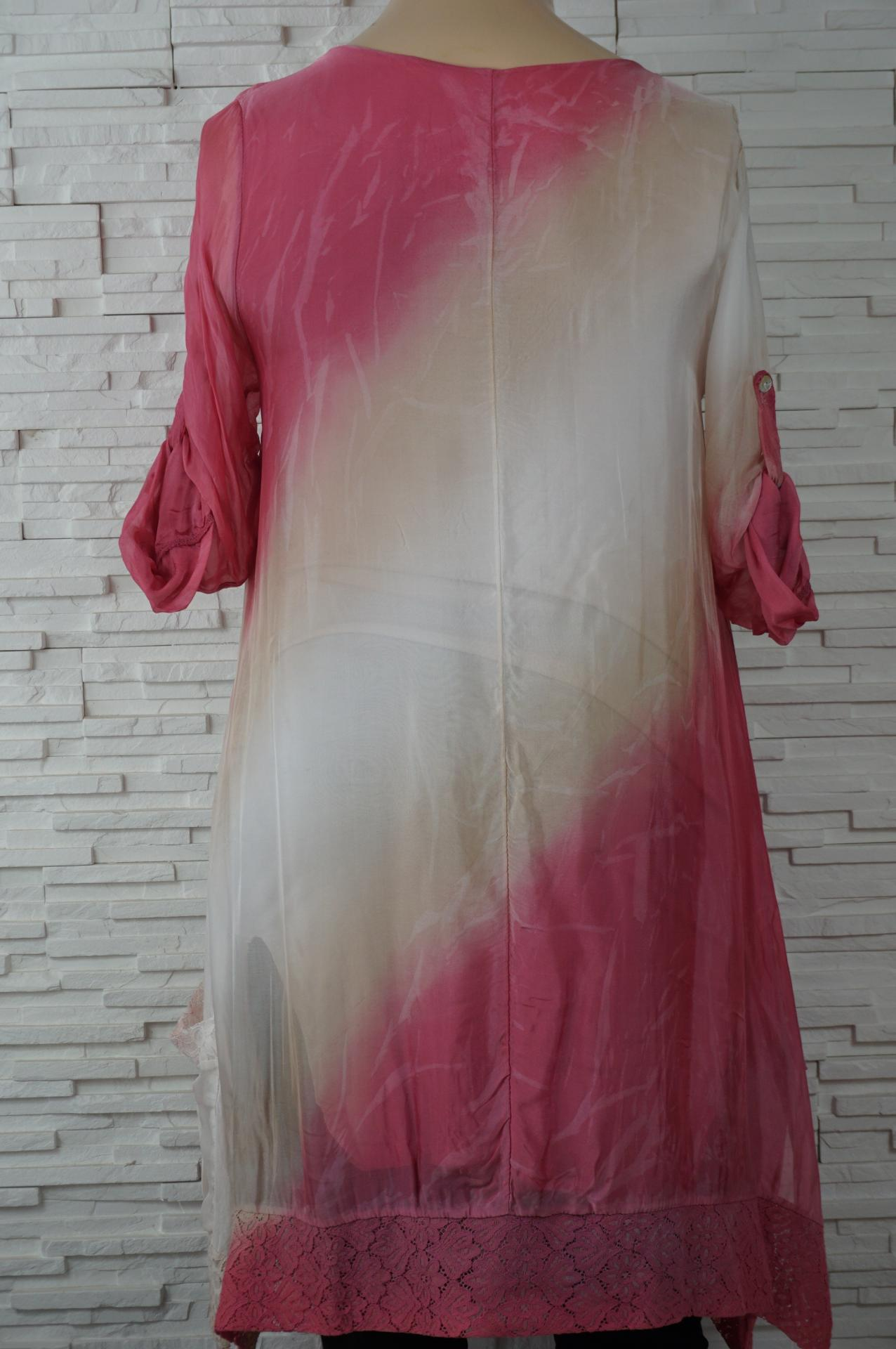 Robe soie longue tye and dye4