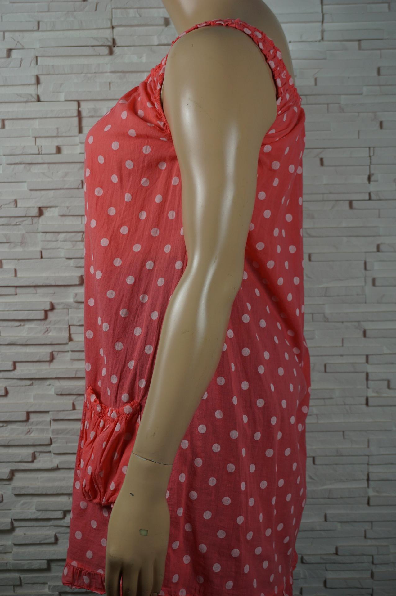 Robe tunique coton sans manches2