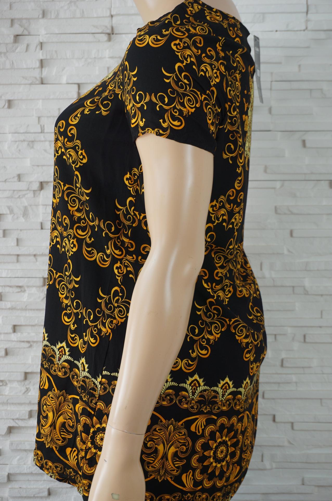 Robe tunique imprime foulard2
