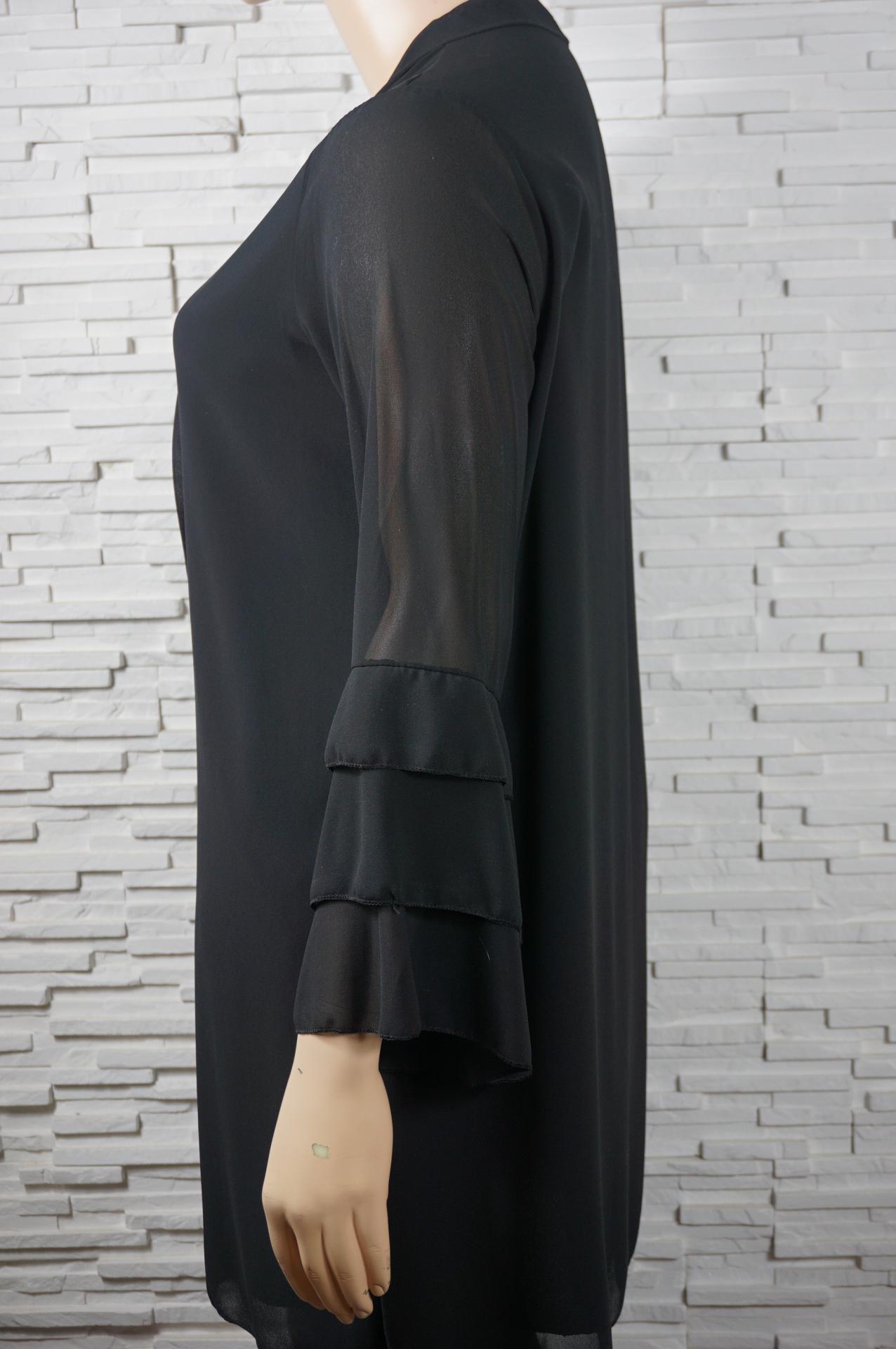 Robe tunique longue a liens2